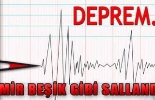 İzmir 4.1 İle Sallandı!