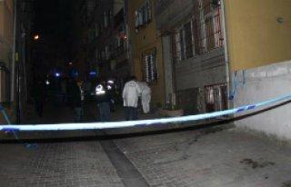 Kasımpaşa'da ses bombası patlatıldı