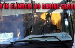 IŞİD'in Elindeki 49 Rehine Serbest