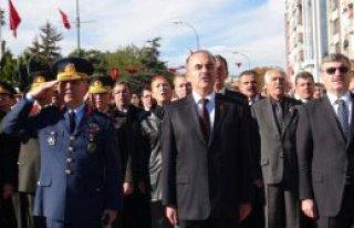 Atatürk, Konya'da Törenlerle Anıldı