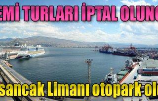 Gemi Turları İptal Olunca, Alsancak Limanı Otopark...