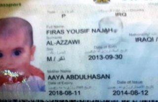 7'nci Kattan Düşen Iraklı Bebek Öldü