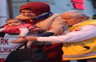 6 Aylık Bebek Kazayı Ucuz Atlattı