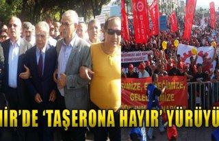 İzmir'de 'Taşerona Hayır' Yürüyüşü