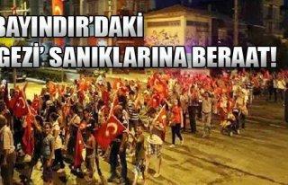 'Gezi' Sanıklarına Beraat