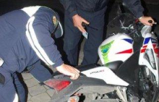 Motosiklet Çarptı, Hastanede Öldü!