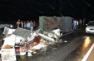 Elbistan'da Kaza:2 Yaralı