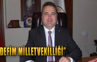 İzmir Baro Başkanı'nın Hedefi Milletvekilliği