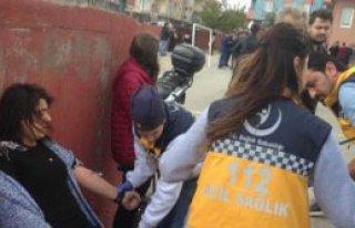 Polisten Biber Gazlı Müdahale