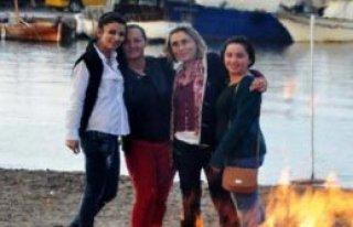 Bodrum'da Nar Tugan Ateşi Yakıldı
