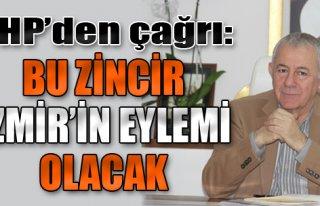 'Bu Zincir, İzmir'in Eylemi Olacak'