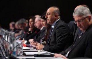 Bakan Çavuşoğlu, AGİT Toplantısına Katıldı
