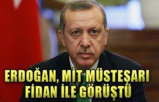 Erdoğan, Mit Müsteşarı Fidan ile Görüştü