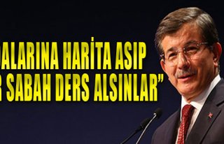 Davutoğlu, Muhalefeti Eleştirdi