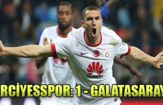 K.Erciyesspor: 1 - Galatasaray: 2