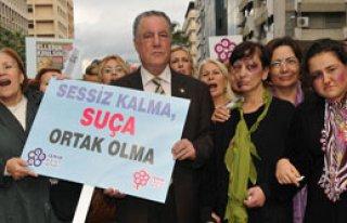 İzmirli Kadınlar Şiddete Hayır Diyecek