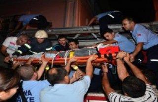Adana'da İntihar Girişimi