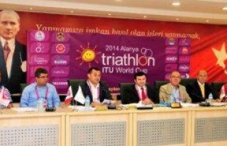 Alanya Dünya Triatlon Kupası'na Hazır