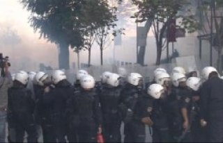 Ankara'da 'Kobani' Eylemine Müdahale