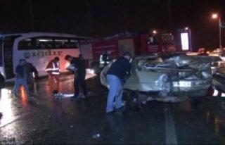 Ankara'da Kaza: 30 Yaralı