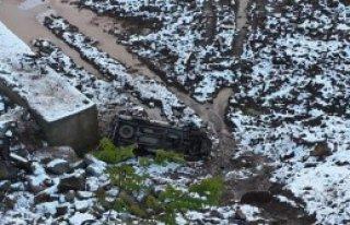 Artvin'de Buzlanma Kazası: 1 Ölü, 3 Yaralı