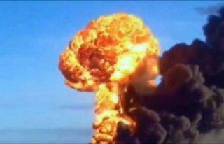 Atom Bombası Gibi Patladı