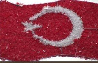 Balıkesir'de MHP'den Bayrak Tepkisi