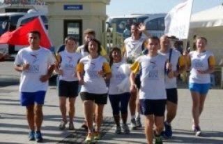 Barış Koşucuları Çanakkale'ye Ulaştı
