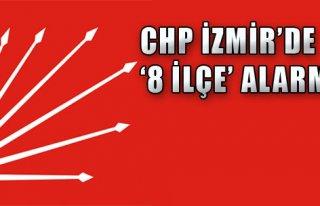 CHP İzmir'de '8 İlçe' Alarmı!