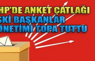 CHP'de Anket Çatlağı