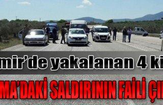 İzmir'de Yakalanan 4 Kişi Soma'daki Saldırının...