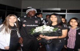 Beşiktaş'a Kayseri'de Çoşkulu Karşılama