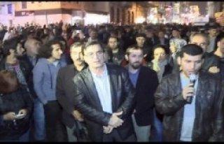 Beyoğlu'nda Kobani İçin Eylem