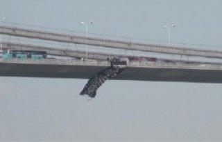Boğaziçi Köprüsü'nde Tezkere Protestosu
