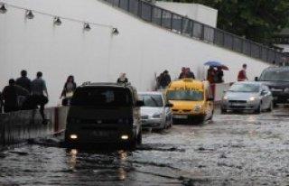 Metrekareye 13 Kilo Yağmur Düştü
