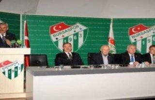 Bursaspor'da Divan Kurulu Toplandı