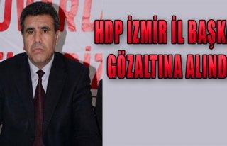 HDP İzmir İl Başkanı Gözaltına Alındı!