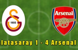 Galatasaray 1-4 Arsenal
