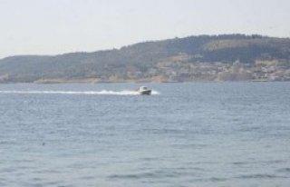 Boğaz'da Balıkçı Teknesi Battı