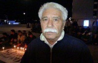 Çanakkale'de Mumlu Kobani Eylemi