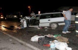 Çankırı'da Feci Kaza: 3 Ölü, 6 Yaralı