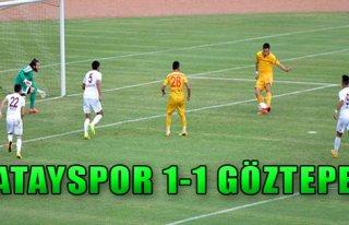 Hatayspor 1-1 Göztepe
