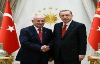 Erdoğan, Kahraman'ı Kabul Etti