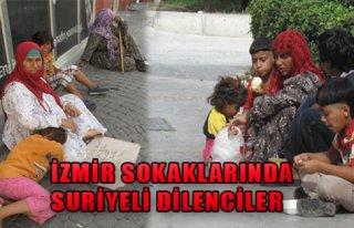 İzmir Sokaklarında Suriyeli Dilenciler