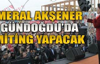 Akşener İzmir'e Geliyor