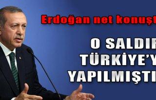 'O Saldırı Türkiye'ye Yapılmış Saldırıdır'