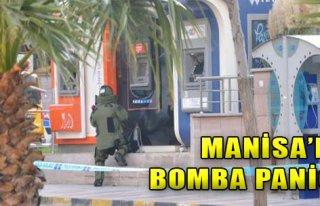 Manisa'da Bomba Paniği!