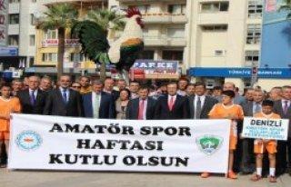 Denizli'de Amatör Sporlar Şenliği