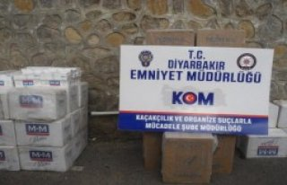 Diyarbakır Polisinden Kaçakçılara Darbe