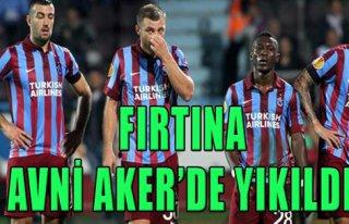 Trabzonspor 0- 1 Legia Varşova